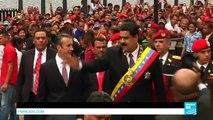 """Venezuela : le vice-président, sanctionné par les Etats-Unis, dénonce une """"agression"""""""