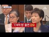 최순실 징역 20년·벌금 180억…신동빈 법정구속