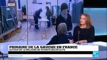 """Premier tour de la Primaire de la Gauche - """"2 hommes et 2 projets l'un contre l'autre"""""""
