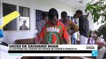 Décès de Zacharie Noah : son fils, Yannick Noah se confie à France 24