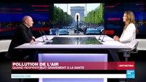"""La pollution à Paris, """"une crise de santé publique majeure"""""""