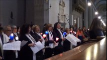 11-02-2018:AVE MARIA DONNA DELL'ATTESA cantata dal CORO ELLA DIOCESI ALLA GIORNATA DEL MALATO
