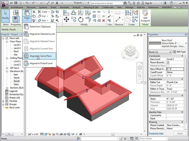 Creating a Roof Soffit in Revit