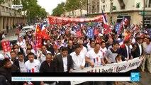 Aubervilliers : des milliers de Français d'origine chinoise manifestent contre les agressions
