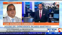 """""""Confiamos en que el miércoles ya pueda estar en libertad una vez se cumplan los trámites"""": vocero del expresidente panameño Ricardo Martinelli"""