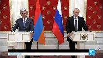 """Russie : Poutine accuse l'Ukraine d'envoyer des """"saboteurs-terroristes"""" et des commandos en Crimée"""