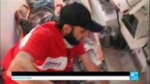 Syrie : à Alep, le terrible quotidien des sauveteurs de la Défense Civile