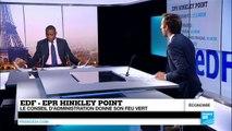 EDF adopte le projet d'EPR à Hinkley Point, Londres temporise