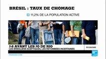 JO : les Brésiliens sceptiques, à 8 jours du coup d'envoi