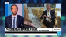 La question des sanctions au cœur du Davos russe