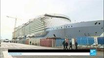 France : le plus grand paquebot du monde, Harmony of the Seas, largue les amarres !