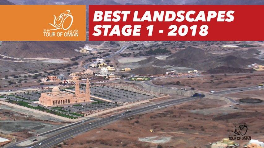 Best landscapes - Stage 1 - Tour of Oman 2018
