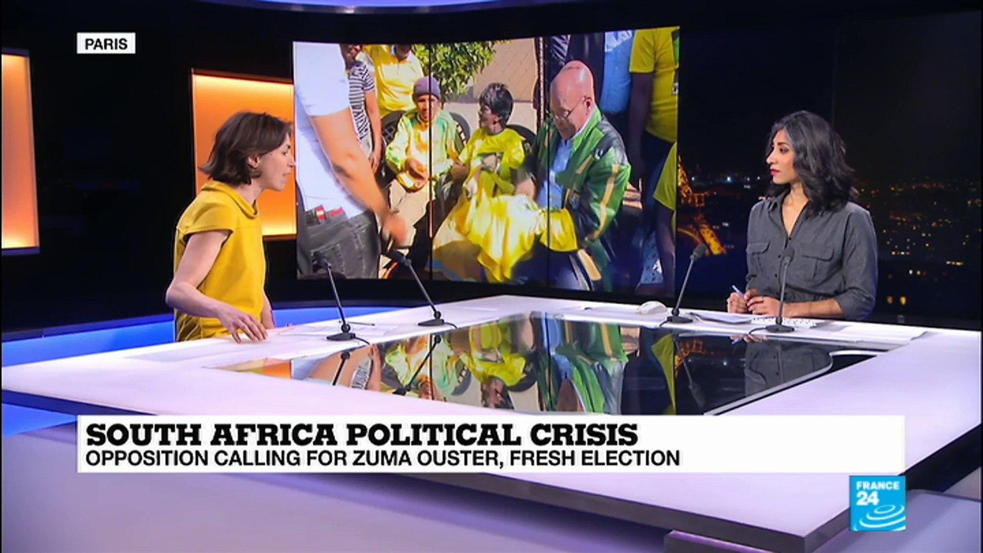 Three scenarios to end South Africa''s political crisis