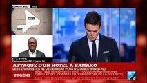 2 terroristes tués à l'intérieur de l'hôtel Radisson de Bamako au Mali