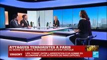 """Attentats de Paris: """"C'est la 1ère fois que l'EI revendique des attaques en France et en Europe"""""""