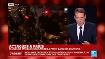 """Attentats à terroristes à Paris : """"La prise d'otages au Bataclan est terminée"""""""