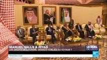Visite de Valls à Riyad : les droits de l'Homme, grands oubliés du voyage ?
