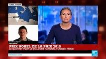 """""""Une énorme surprise"""" : Le Nobel de la paix décerné au quartet pour le Dialogue national tunisien"""