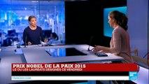 TUNISIE - Le prix Nobel de la paix décerné au quartet pour le Dialogue national tunisien