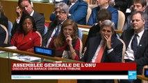 REPLAY - Discours de Barack Obama lors de l'assemblée générale de l'ONU