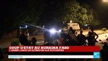 Coup d'État au BURKINA FASO - L'armée lance un ultimatum aux putschistes RSP