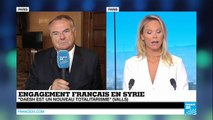 """Qui est l'ennemi principal de la France ? """"L'État islamique, Al Nosra, Al-Qaïda ou Assad ?"""""""