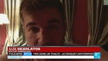 """Attaque du Thalys : Le récit des """"héros"""" américains - FRANCE"""