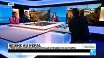 Séisme au Népal : l'aide humanitaire internationale pressée par le temps