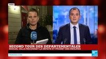 """Défaite du Parti Socialiste : """"Ce n'est pas la bérézina annoncée"""" - Élections départementales 2015"""