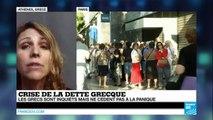 """Crise de la dette grecque : """"Ce n'est absolument pas la panique en Grèce"""""""