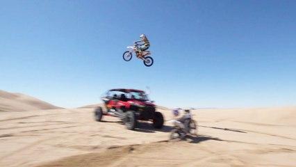 129-Foot Dune Jump?   RIDER VLOG