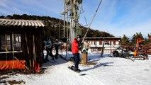 A la station de ski du Mont Serein