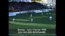 04/02/90 : Erik Van den Boogaard (88') : Rennes - Lens (1-0)