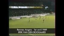 01/04/89 : Erik Van den Boogaard (1er but) : Rennes - Angers (2-1)