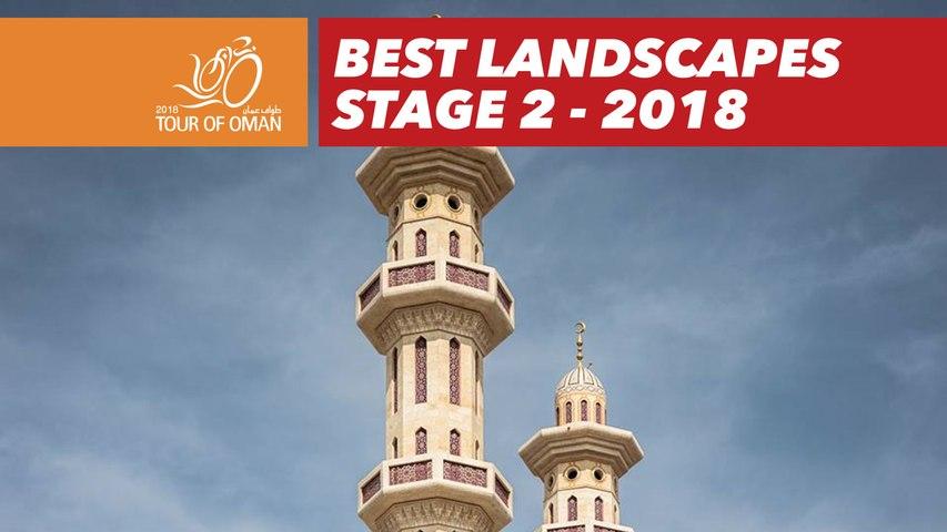 Best landscapes - Stage 2 - Tour of Oman 2018