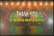 Alanis Morissette Thank You Karaoke Version