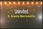 Alanis Morissette Uninvited Karaoke Version