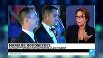 Mariage homosexuel : Sarkozy propose l'abrogation de la loi Taubira