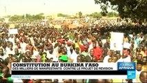LE JOURNAL DE L'AFRIQUE - Burkina Faso : manifestation monstre à Ouagadougou