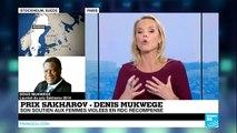"""""""En RDC, femmes et bébés continuent d'être violés"""" : Denis Mukwege"""