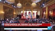"""François Hollande : """"si le cessez-le-feu est respecté en Ukraine, les Mistral seront livrés"""""""