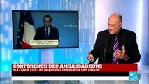 Conférence des ambassadeurs : Hollande fixe les grandes lignes de sa diplomatie
