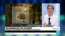 La fermeture de restaurants Mac Donald's en Russie : scandale sanitaire ou pression politique ?