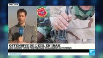 Irak : les combattants kurdes regagnent du terrain face aux djihadistes