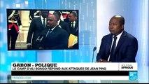 Gabon : le camp d'Ali Bongo répond aux attaques de Jean Ping