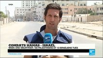 Week-end meurtrier dans la Bande de Gaza : 160 Palestiniens et 13 Israéliens tués
