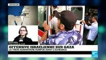 """Gaza-Israël: """"Les parties ont des obligations par rapport au droit international humanitaire"""""""
