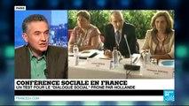 """Conférence sociale en France - Bruno Grandjean : """"En France, on est un pays très politique"""""""