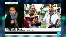 Mondial 2014 : l'Algérie dit au revoir au Mondial après une très belle prestation face à l'Allemagne