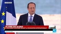 """François Hollande : """"à nous de faire preuve de la même bravoure, de la même volonté"""""""
